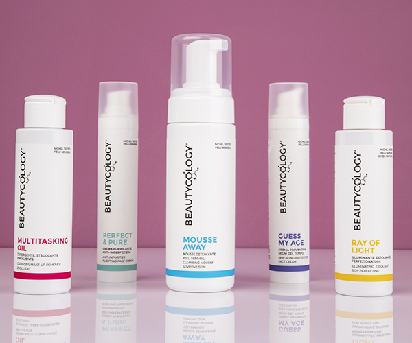 Prodotti skin care funzionali realizzati da Beautycology