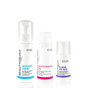 beautycology beauty routine mousse away multitasking oil guess my age kit