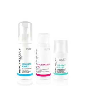 multitasking oil mousse away perfect & pure beautycology skincare