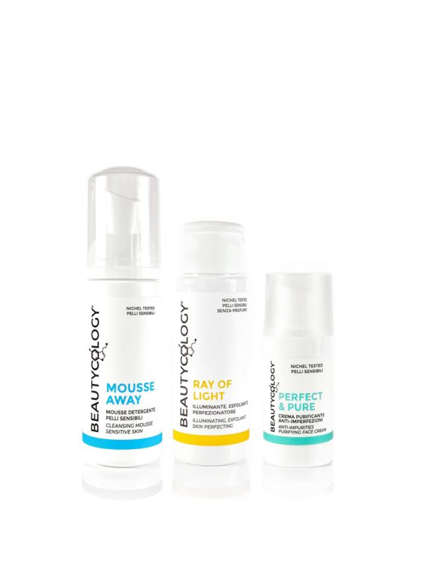ray of light perfect & pure mousse away beautycology beauty routine
